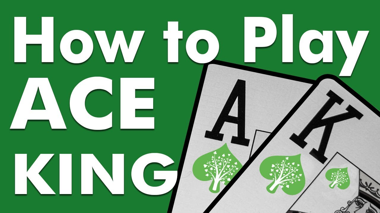 Free Online Poker Guide - How to Play Ace-King